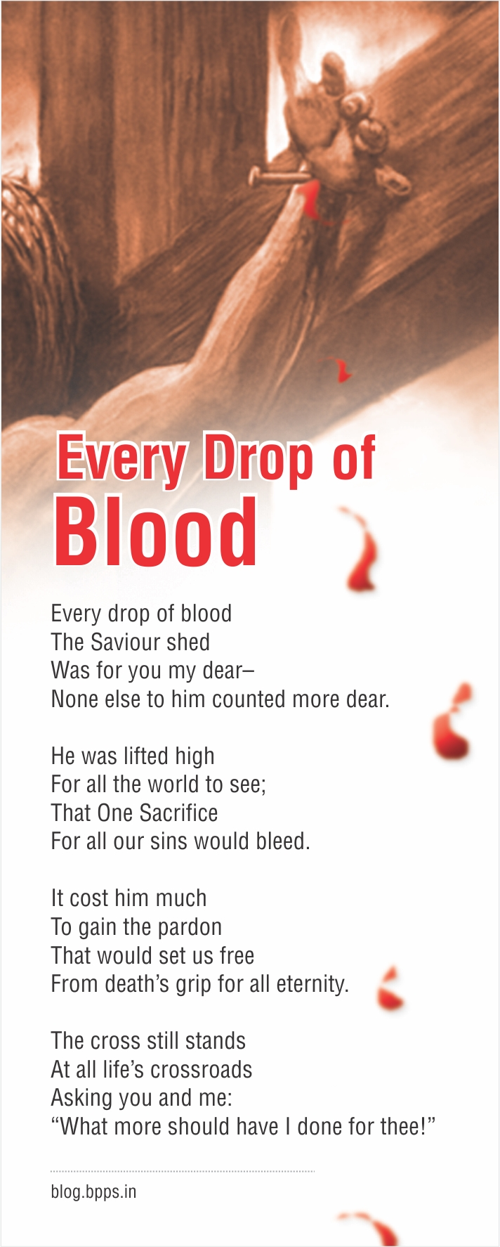 Every Drop Of Blood Bejoy Peter S Public Speaking 174 Blog
